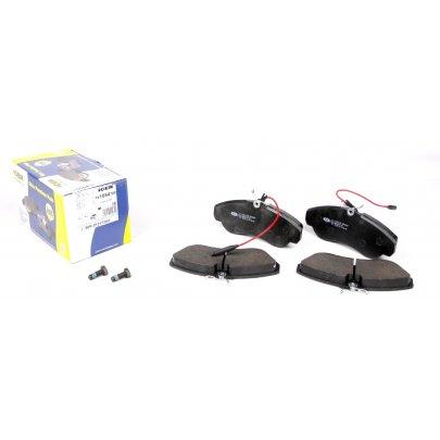 Тормозные колодки передние (с датчиком, R16) Fiat Ducato / Citroen Jumper / Peugeot Boxer 1994-2002 141054-700 ICER (Испания)