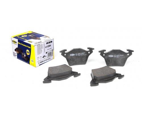 Тормозные колодки задние без датчика (система BOSCH) MB Vito 638 1996-2003 141284 ICER (Испания)