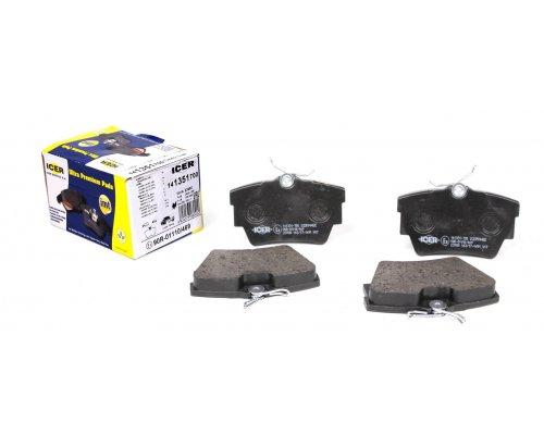Тормозные колодки задние Renault Trafic II / Opel Vivaro A 2001-2014 141351-700 ICER (Испания)