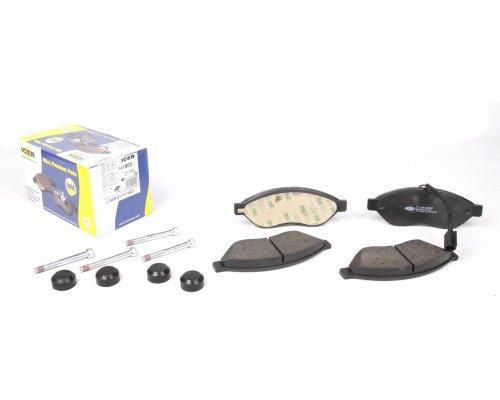 Тормозные колодки передние (с датчиком, нагрузка до 1.7т, не для повышенной нагрузки) Fiat Ducato II / Citroen Jumper II / Peugeot Boxer II 2006- 141803 ICER (Испания)