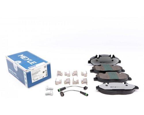 Тормозные колодки передние (с датчиком, система Bosch) MB Vito 639 2003- 0252400720/PD MEYLE (Германия)