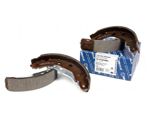 Тормозные колодки задние барабанные (229x42мм) Renault Kangoo 97-08 16-145330001 MEYLE (Германия)