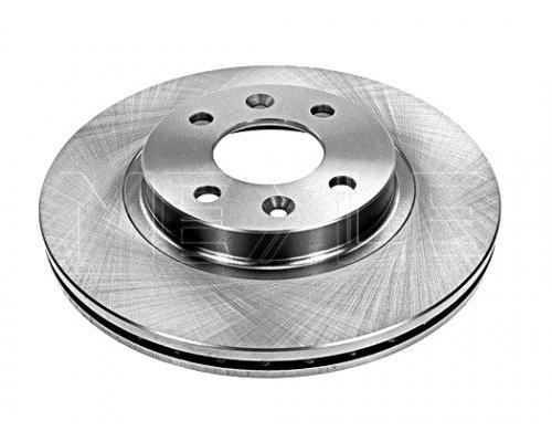 Тормозной диск передний (с ABS, D=259mm) Renault Kangoo / Nissan Kubistar 97-08 16-155210036 MEYLE (Германия)