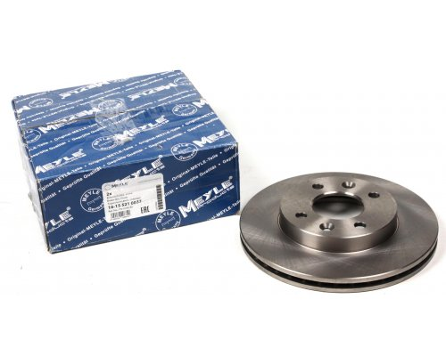 Тормозной диск передний (без ABS, D=238mm) Renault Kangoo / Nissan Kubistar 97-08 16-155210037 MEYLE (Германия)