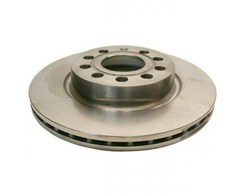 Тормозной диск передний (280х22mm) VW Caddy III 04- 1163101400 JP GROUP (Дания)