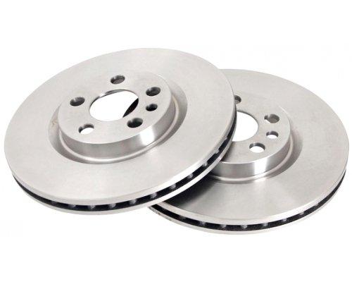 Тормозной диск передний (281x26мм) Fiat Scudo / Citroen Jumpy / Peugeot Expert 1995-2006 16288 ABS (Нидерланды)