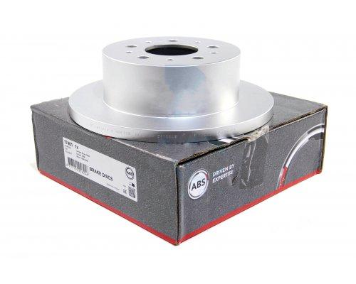 Тормозной диск задний (280x16мм, R15) Fiat Ducato / Citroen Jumper / Peugeot Boxer 2002-2006 17461 ABS (Нидерланды)