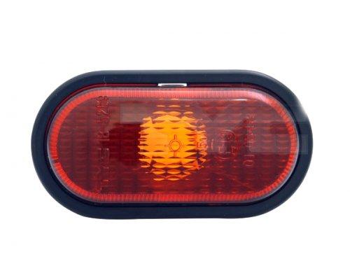 Повторитель поворота правый / левый (желтый) Renault Kangoo / Nissan Kubistar 1997-2008 18-0665-01-2 TYC (Тайвань)