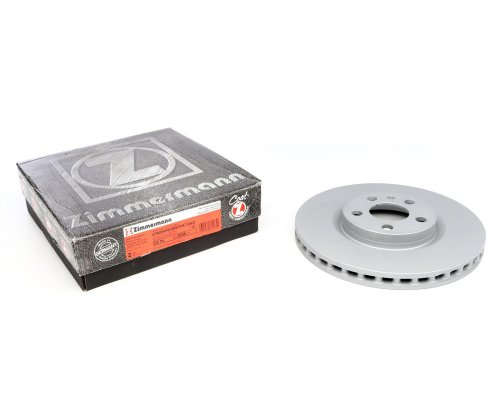 Тормозной диск передний (281x26мм) Fiat Scudo / Citroen Jumpy / Peugeot Expert 1995-2006 180.3008.20 ZIMMERMANN (Германия)