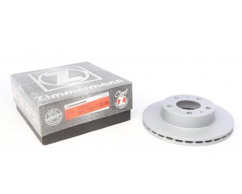 Тормозной диск передний (300x24) Fiat Ducato II / Citroen Jumper II / Peugeot Boxer II 2006- 180.3011.20 ZIMMERMANN (Германия)
