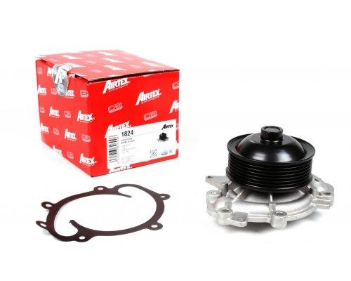 Помпа (двигатель: OM642, 7-ручейковый шкив) MB Vito 639 3.0CDI 2007- 1824 AIRTEX (Испания)