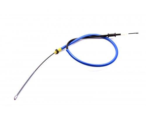 Трос ручника правый (1420 / 1075мм, до 600кг) Renault Kangoo / Nissan Kubistar 97-08 1987477633 BOSCH (Германия)
