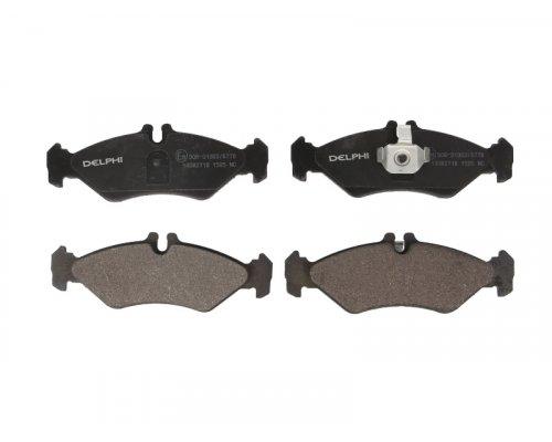 Тормозные колодки задние (141x50x17мм) VW LT 28-35 1996-2006 LP1595 DELPHI (США)