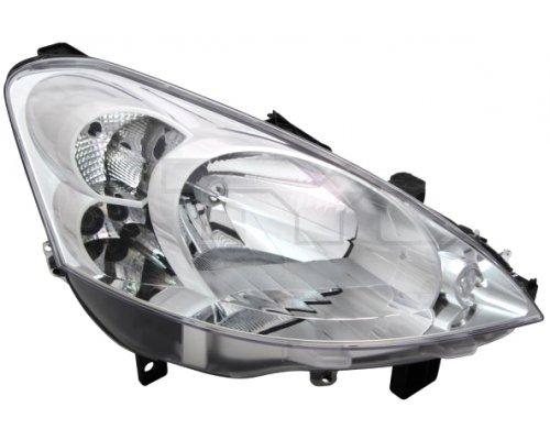 Фара передняя правая (тип ламп: H4) Peugeot Partner II 2008- 20-11809-05-2 TYC (Тайвань)