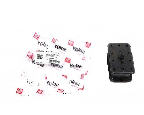 Подушка передней пластиковой рессоры нижняя VW Crafter 2006- 201122 SOLGY (Испания)