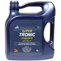 Синтетическое моторное масло Super Tronic Long Life III 5w30 (5L) 20475 ARAL (Германия)