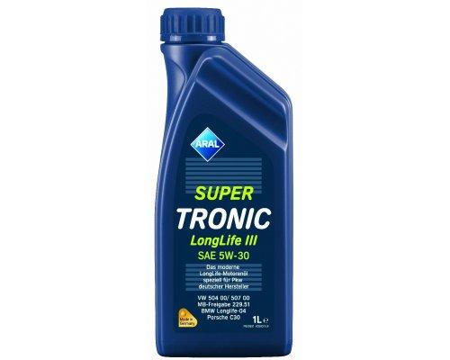 Синтетическое моторное масло Super Tronic Long Life III 5w30 (1L) 20478 ARAL (Германия)