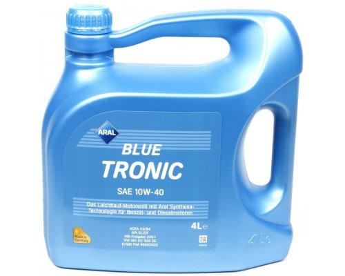 Полусинтетическое моторное масло Blue Tronic SAE 10w40 (4L) 20484 ARAL (Германия)