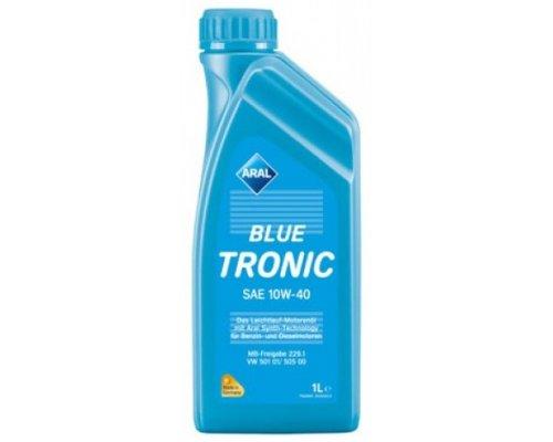Полусинтетическое моторное масло Blue Tronic SAE 10w40 (1L) 20488 ARAL (Германия)
