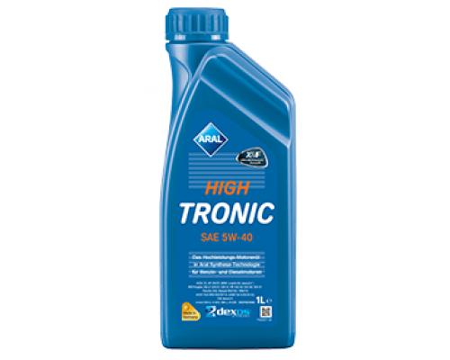 Синтетическое моторное масло High Tronic SAE 5w-40 (1L) 20637 ARAL (Германия)