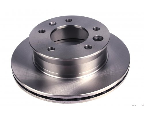 Тормозной диск передний (276х22мм) VW LT 28-46 1996-2006 208001 SOLGY (Испания)