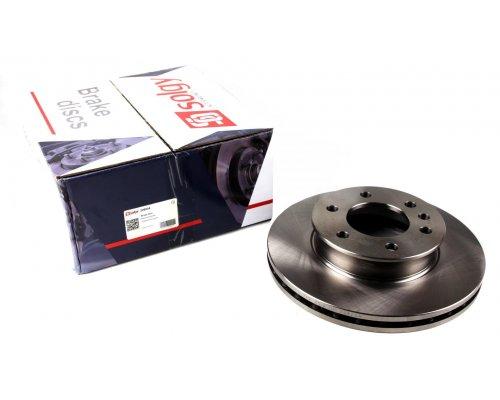 Тормозной диск передний (299.6х28мм) MB Sprinter 906 2006- 208004 SOLGY (Испания)