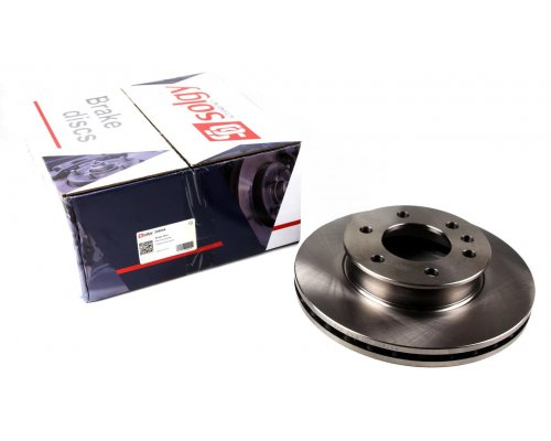 Тормозной диск передний (299.6х28мм) VW Crafter 2006- 208004 SOLGY (Испания)