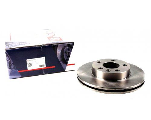 Тормозной диск передний вентилируемый (R15, 280x24mm) VW Transporter T4 90-03 208006 SOLGY (Испания)