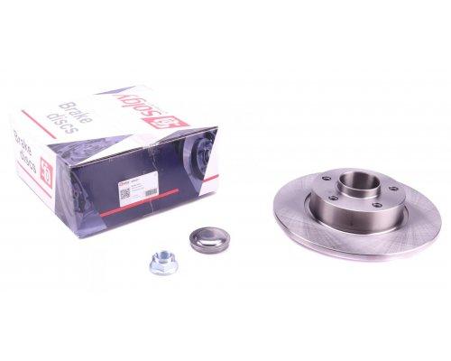 Тормозной диск задний (с подшипником) Renault Trafic II / Opel Vivaro A 2001-2014 208007 SOLGY (Испания)