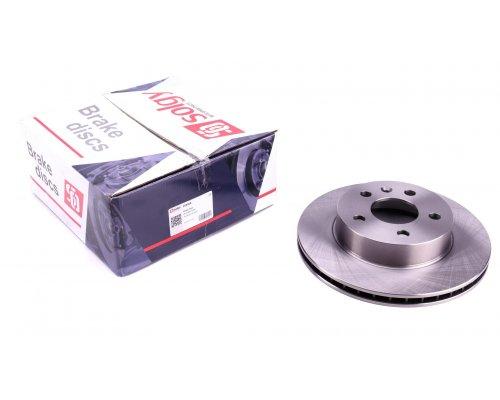 Тормозной диск передний вентилируемый (276х22мм) MB Vito 638 1996-2003 208008 SOLGY (Испания)
