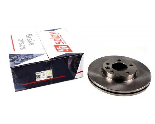 Тормозной диск передний (R16, 308x29.5mm) VW Transporter T5 03- 208009 SOLGY (Испания)