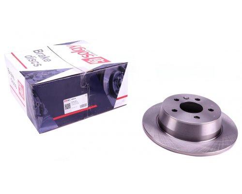 Тормозной диск задний (280х10мм) MB Vito 638 1996-2003 208010 SOLGY (Испания)