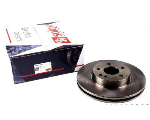 Тормозной диск передний (300х28мм) MB Vito 639 2003- 208012 SOLGY (Испания)