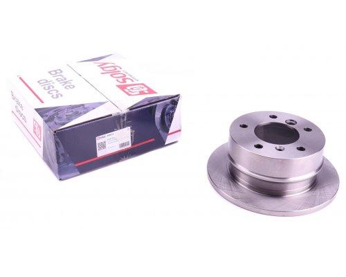Тормозной диск задний (258х12мм) VW LT 28-35 1996-2006 208013 SOLGY (Испания)
