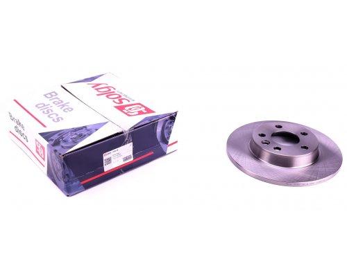 Тормозной диск задний сплошной (280x12mm) VW Transporter T4 90-03 208016 SOLGY (Испания)