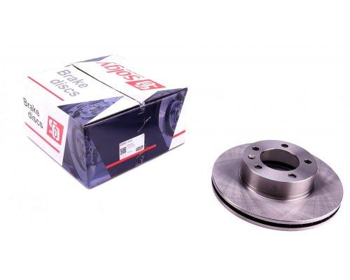 Тормозной диск передний (305.5х28мм) Renault Master II / Opel Movano 1998-2010 208020 SOLGY (Испания)