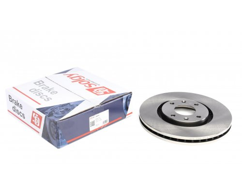 Тормозной диск передний (283x26мм) Peugeot Partner II / Citroen Berlingo II 2008- 208043 SOLGY (Испания)