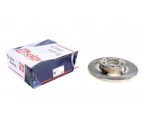 Тормозной диск задний Fiat Scudo II / Citroen Jumpy II / Peugeot Expert II 2007- 208068 SOLGY (Испания)