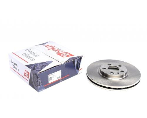 Тормозной диск передний (281x26мм) Fiat Scudo / Citroen Jumpy / Peugeot Expert 1995-2006 208101 SOLGY (Испания)