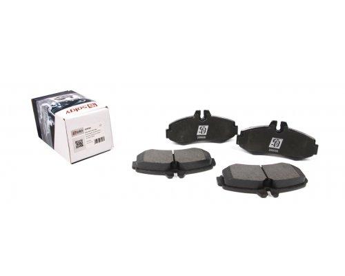 Тормозные колодки передние без датчика (система BOSCH) MB Vito 638 1996-2003 209006 SOLGY (Испания)
