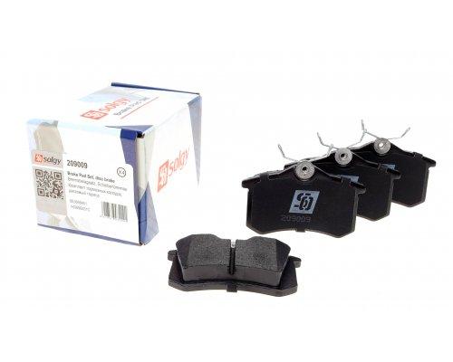 Тормозные колодки задние Peugeot Partner / Citroen Berlingo 1996-2011 209009 SOLGY (Испания)