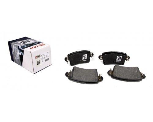 Тормозные колодки задние Renault Master II / Opel Movano 1998-2010 209014 SOLGY (Испания)