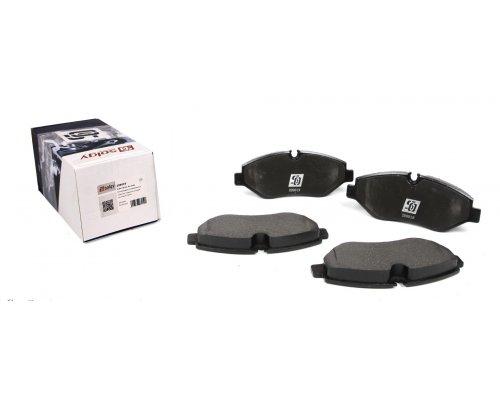 Тормозные колодки передние без датчика VW Crafter 2006- 209019 SOLGY (Испания)