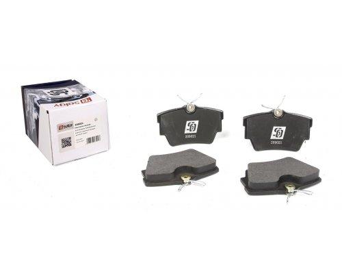 Тормозные колодки задние Renault Trafic II / Opel Vivaro A 2001-2014 209021 SOLGY (Испания)