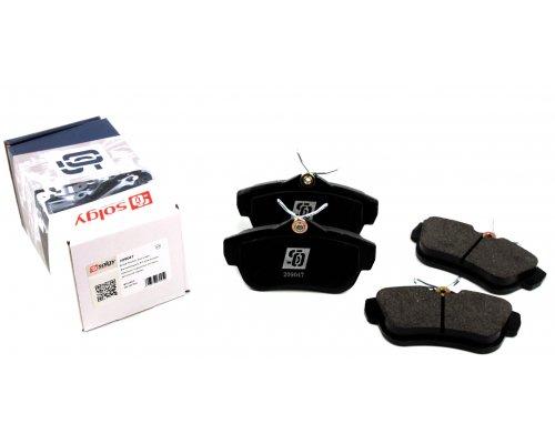 Тормозные колодки задние Fiat Scudo II / Citroen Jumpy II / Peugeot Expert II 2007- 209047 SOLGY (Испания)