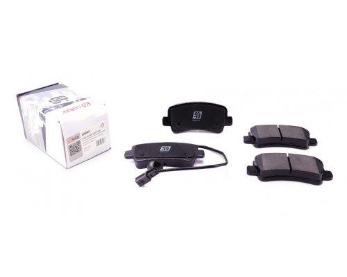 Тормозные колодки задние (без сдвоенного колеса, с датчиком) Renault Master III / Opel Movano B 2010- 209049 SOLGY (Испания)
