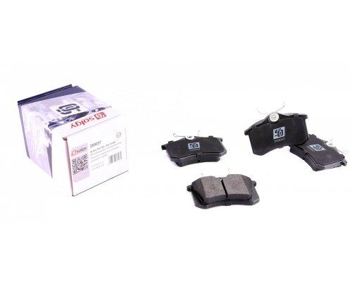Тормозные колодки задние (LUCAS) Fiat Scudo / Citroen Jumpy / Peugeot Expert 1995-2006 209057 SOLGY (Испания)