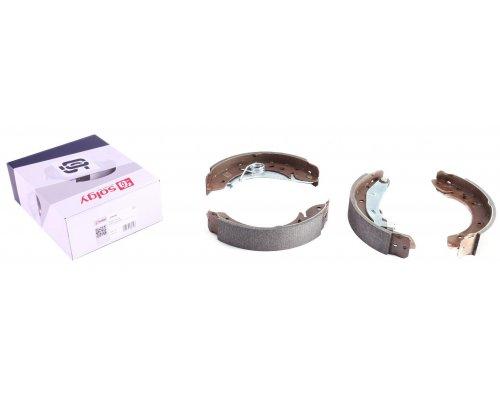 Тормозные колодки задние барабанные (228х42мм) Peugeot Partner / Citroen Berlingo 1996-2011 209085 SOLGY (Испания)