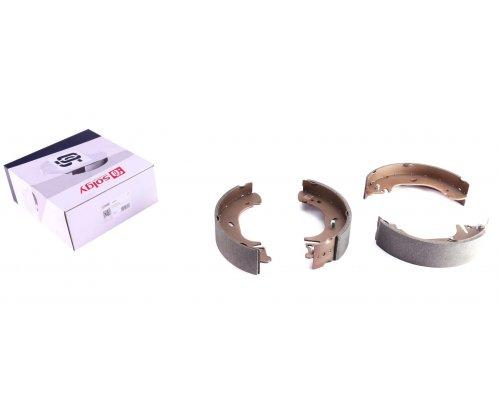Тормозные колодки задние барабанные (280х65мм) Renault Master II / Opel Movano 1998-2010 209088 SOLGY (Испания)