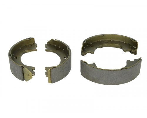 Колодки ручника (со сдвоенным колесом, без пружинок) VW Crafter 2006- 209090 SOLGY (Испания)
